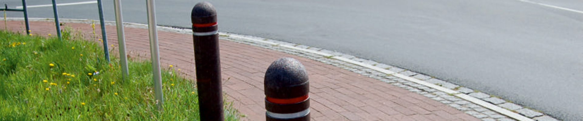 Ph Gummitechnik Poller Halbkigelkopf 15x150